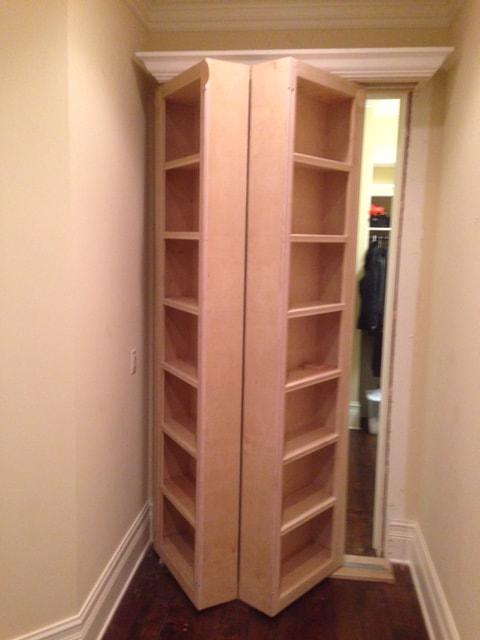 Csi Concealment Door Surface Mount Bifold Door